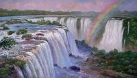 Oleg Kulagin The Iguaçu Falls. Landscape