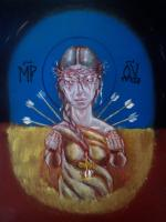 Alex Romanov Ukraine The long-suffering History Painting