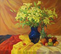 Alexandra Yellow Lily Still Life
