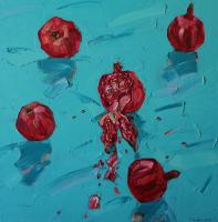 Lenur Velilyaev The Pomegranate Still Life