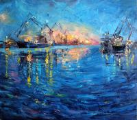 Anna Sidorova Seaport Seascape