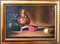 Eremin Kirill Still life with red fish Still Life