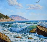 George Tril Wave Seascape