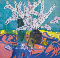 Moesey Li Spring still life Flowers