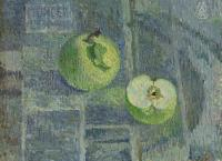 Moesey Li Green apples Still Life