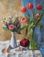 Tatiana March bouquets Still Life